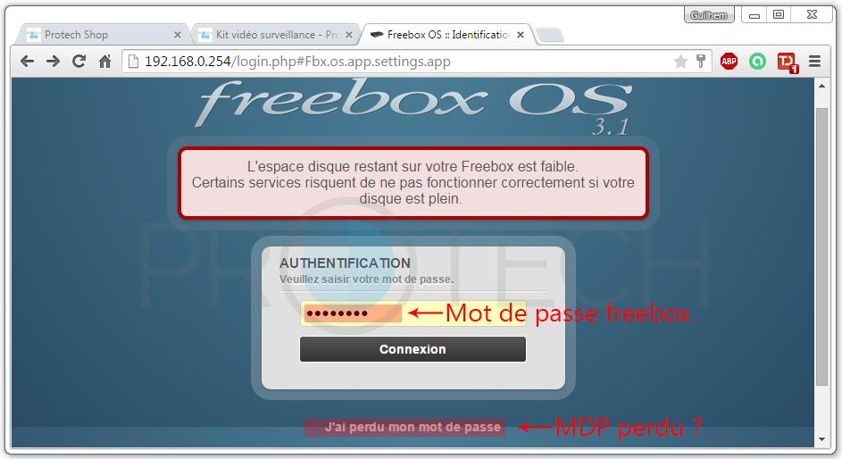 MDP Freebox