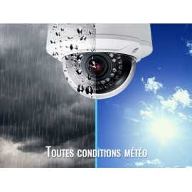 Caméra AHD 1080p Dôme Motorisé 360° - IR 50m