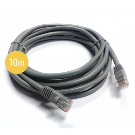 Câble réseau pour camera ip 10m - CAT6
