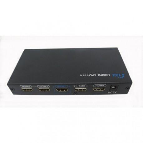 Distributeur HDMI 1 entrée / 4 sorties