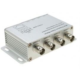 Balun 4 canaux vidéo sur câble CAT5