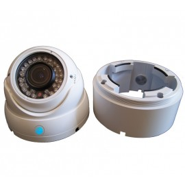 Caméra AHD Dôme Infrarouge Blanche 1,4 MP