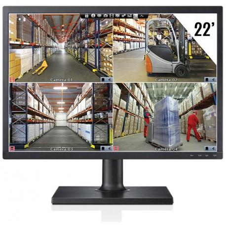 """Ecran LCD 22"""" 1080p Full-HD"""