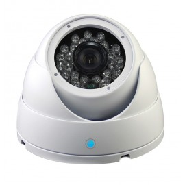 Caméra Analogique Dôme blanche 1000LTV