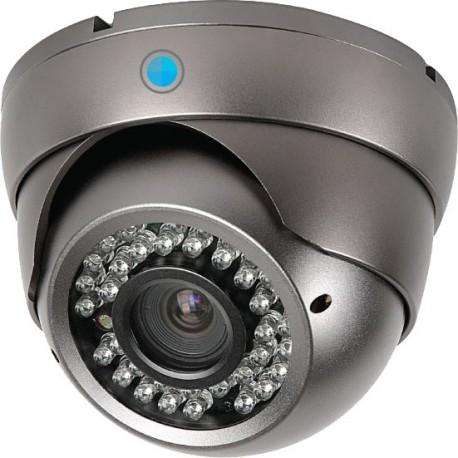 Caméra AHD Dôme Infrarouge grise 2,4 MP