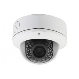 Caméra AHD 1080p Dôme antivandal Infrarouge Blanche 2,4 Mégapixels