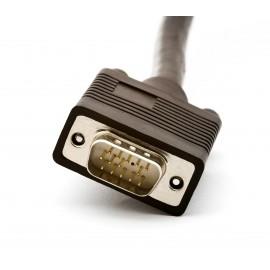 Câble VGA pour vidéosurveillance 10m