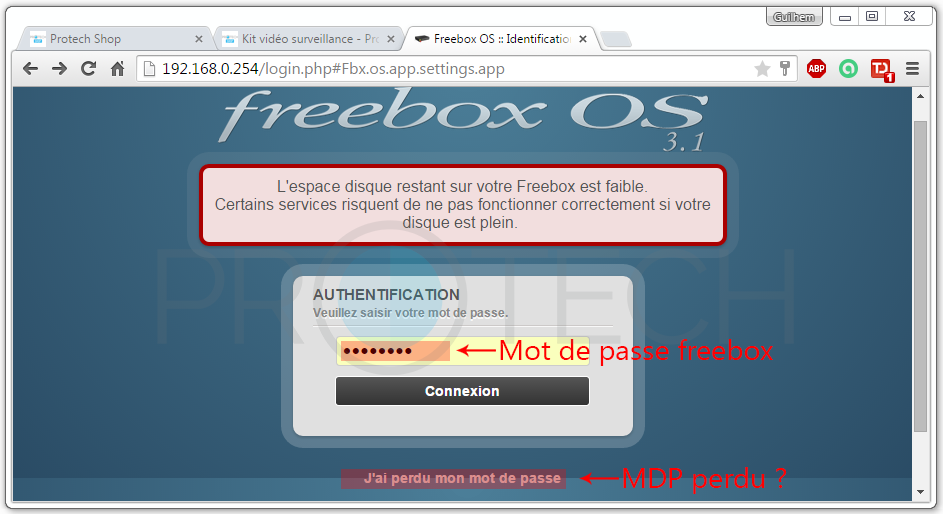 MDP Freebox