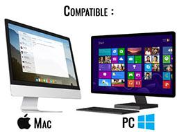 compatible pc et mac